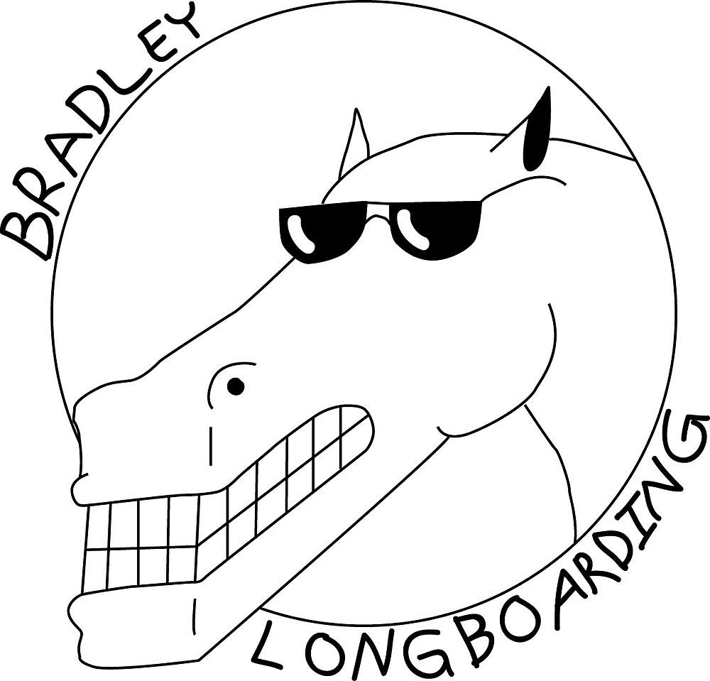 Bradley Longboard Horse Logo by gljmelton