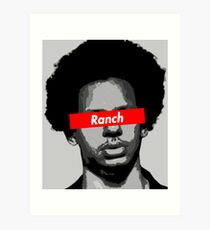 Eric Andre Ranch Art Print