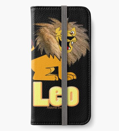 Leo Zodiac Sign  (4296 Views) iPhone Wallet