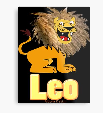Leo Zodiac Sign  (4296 Views) Metal Print