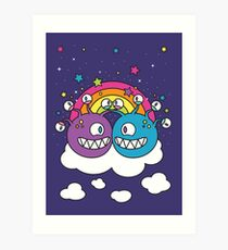 A Friendship to See! Art Print