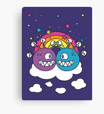 A Friendship to See! Canvas Print