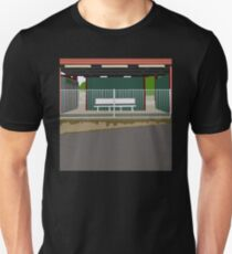 0119 Train Station Seat T-Shirt