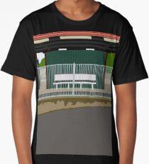 0119 Train Station Seat Long T-Shirt