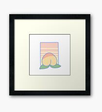 peach! Framed Print