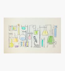 Mad Scientist Photographic Print