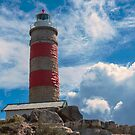 Cape Moreton Lighthouse on the North part of Moreton Island. by Rob D
