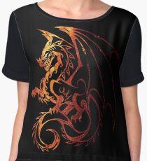 Dragon Chiffon Top