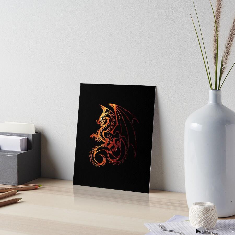 Drachen Galeriedruck