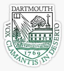 Dartmouth University Sticker