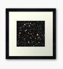 Hubble Extreme Deep Field Landscape Framed Print
