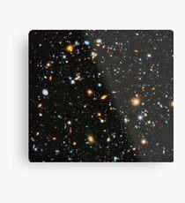 Hubble Extreme Deep Field Landschaft Metallbild