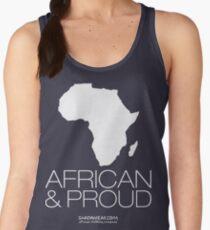 African & proud (white) Women's Tank Top
