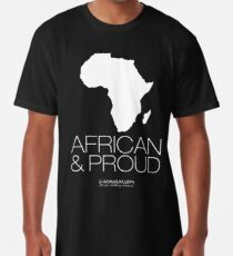 African & proud (white) Long T-Shirt