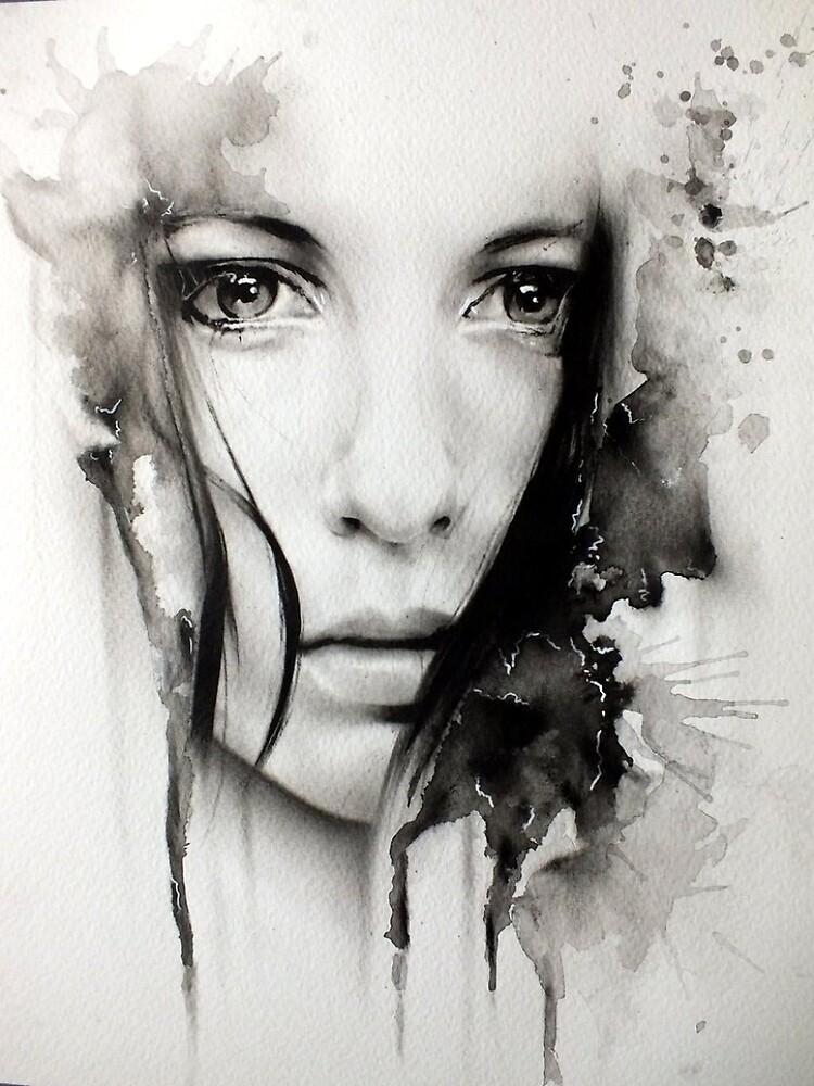 Realistic Girl Digital Art by Febreezy
