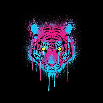 CMYK Tiger Graffiti by RevolutionGFX