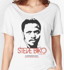 Steve Biko - Afrian Hero Women's Relaxed Fit T-Shirt