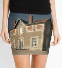 Cellettes Railway Station, France, Europe 2012 Mini Skirt