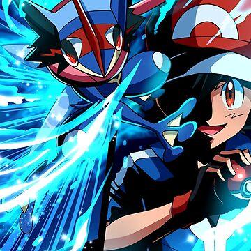Pokemon Greninja Battle by Takaomii