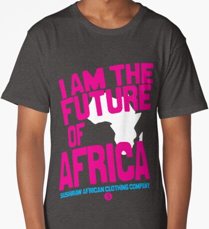 I am the future of Africa Long T-Shirt