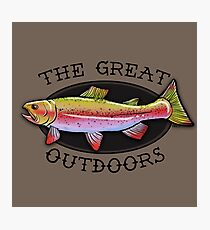 The Great Outdoors Photographic Print