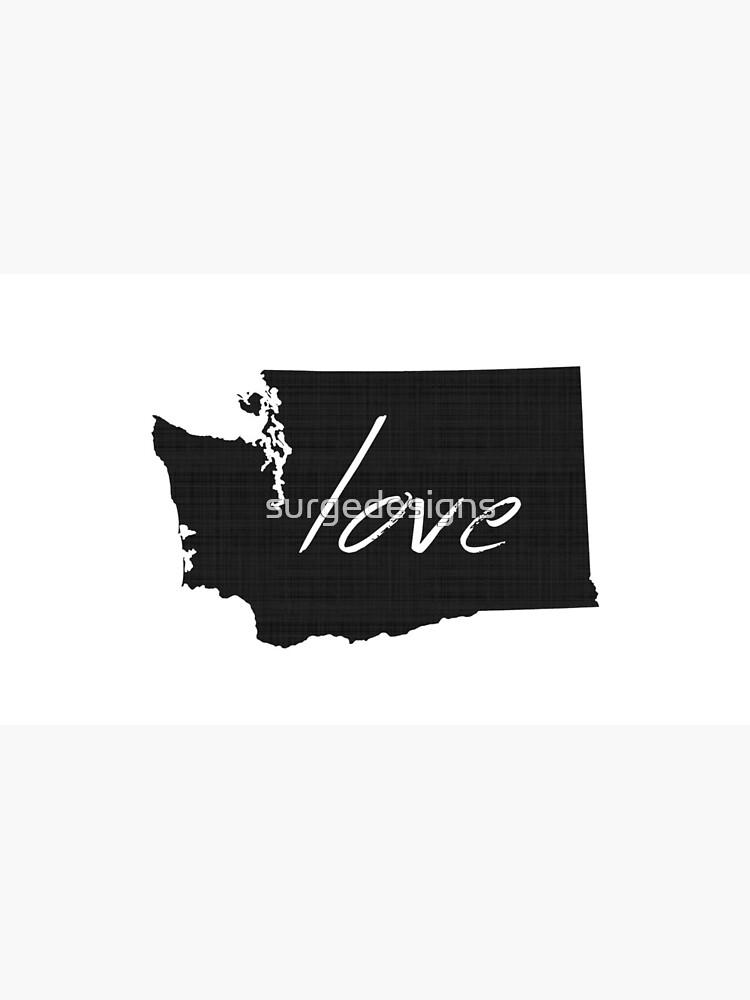 Liebe Washington von surgedesigns