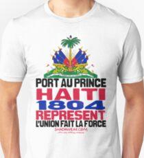 Haiti represent Unisex T-Shirt