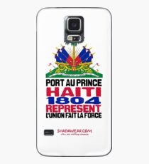 Haiti represent Case/Skin for Samsung Galaxy
