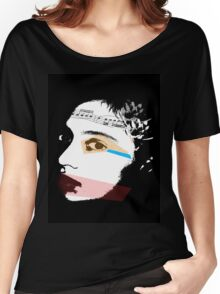 the shape of the music tee Women's Relaxed Fit T-Shirt