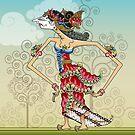 Wayang Princess Srikandi by Jatmika Jati