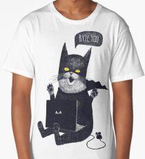 Geek Cat Long T-Shirt