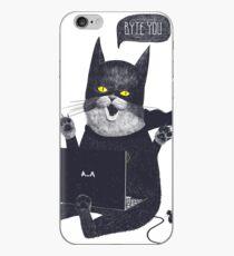 Geek Cat iPhone Case