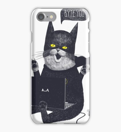Geek Cat iPhone Case/Skin
