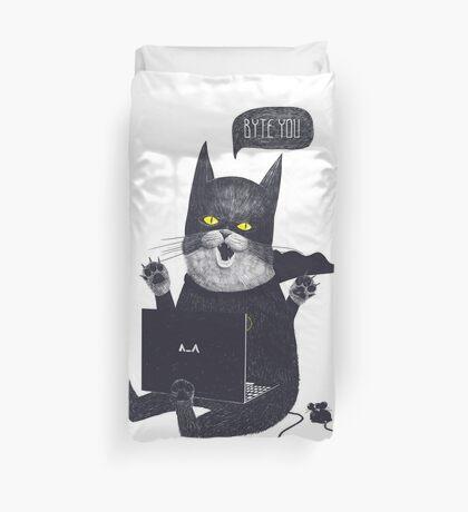 Geek Cat Duvet Cover