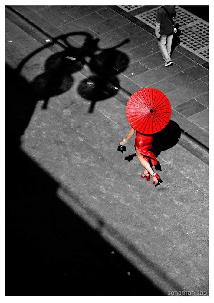 Red China Doll by W.Jonathan Jao