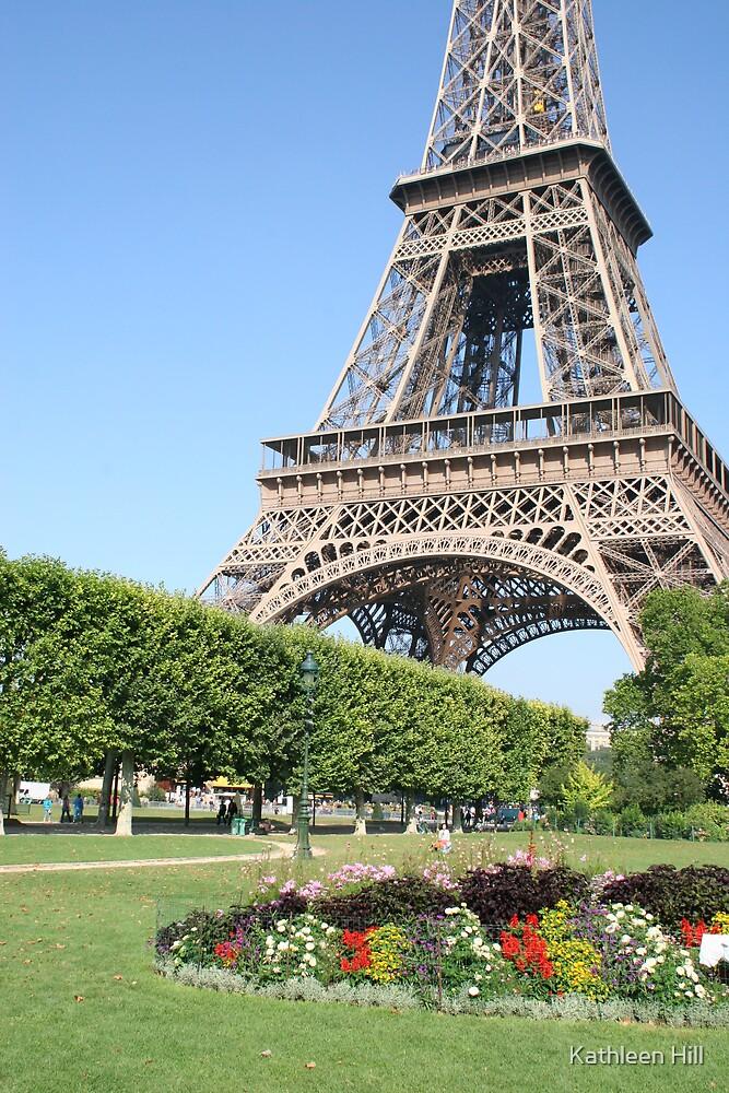 Eiffel again by Kathleen Hill