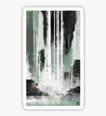 Rapid Falls Sticker