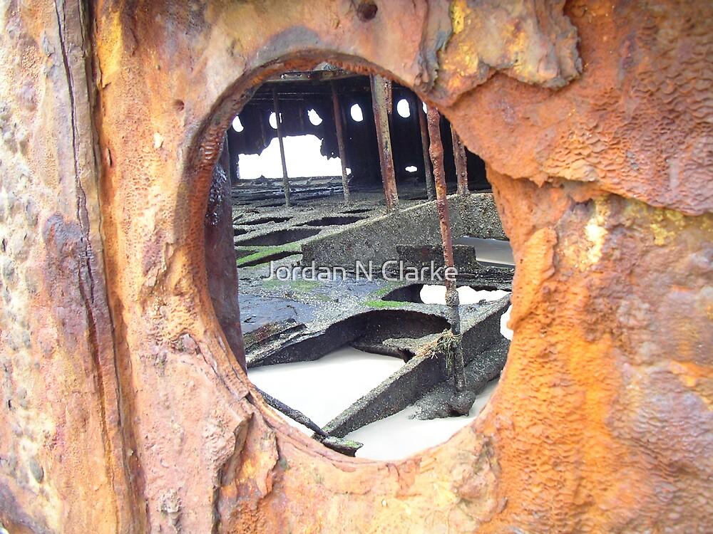 Rusty Portal by Jordan N Clarke