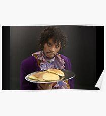 Purple Pancakes Poster