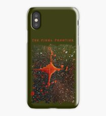 FINAL FRONTIER SCI FI SPACE ART iPhone Case/Skin