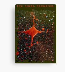 FINAL FRONTIER SCI FI SPACE ART Canvas Print