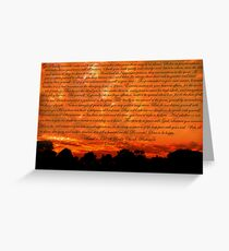 Desiderata Greeting Card