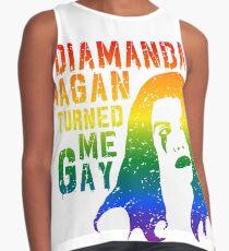 Diamanda Hagan Turned Me Gay (Rainbow) Contrast Tank
