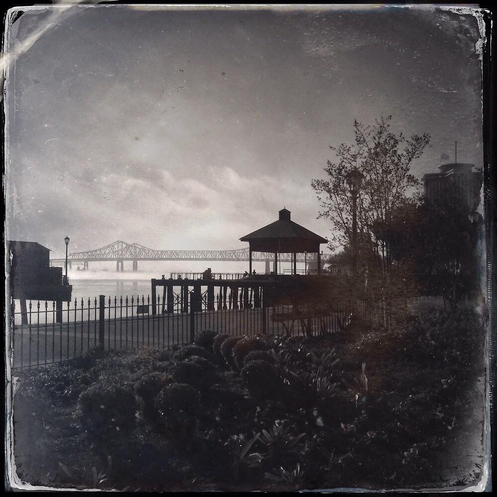 New Orleans Morning Fog  by JudithKitzes