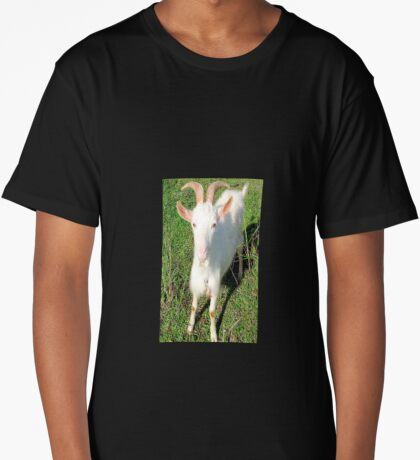 Billy The Kid Goat Long T-Shirt