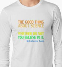 Neil deGrasse Tyson Popular Quote About Science T-Shirt