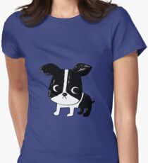 Boston Terrier Women's Fitted T-Shirt