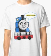 """Cheeky Thomas """"Rubbish!"""" Classic T-Shirt"""