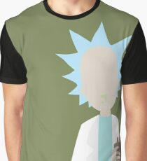 Simple Rick // Rick & Morty Graphic T-Shirt