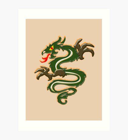 Dragon  (6563 Views) Art Print